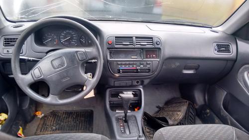 sucata honda civic lx 1999 automatico gasolina  rs peças