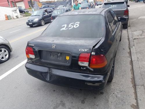 sucata honda civic lx automático ano 98 (somente peças)