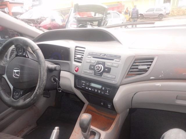 Sucata Honda Civic Lxs 1.8 Aut,2013 Motor Cambio Farol Banco