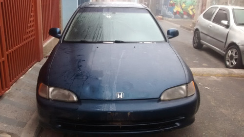 sucata honda civic sedan ex 1.6 16v 1995