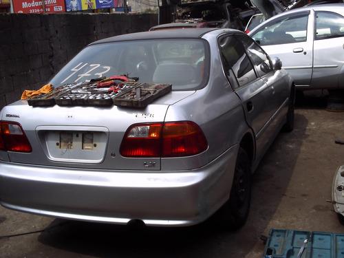 sucata honda civic vendido em partes tudo para seu veículo