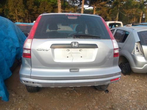sucata honda cr-v lx 2011/2011 2.0 gasolina retirada peças