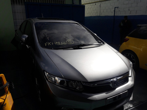 sucata honda new civic exr 2.0 16v 2012 2013 2014