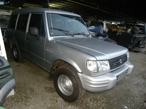 sucata hyundai galloper 2.5 diesel 4x4 manual 2000