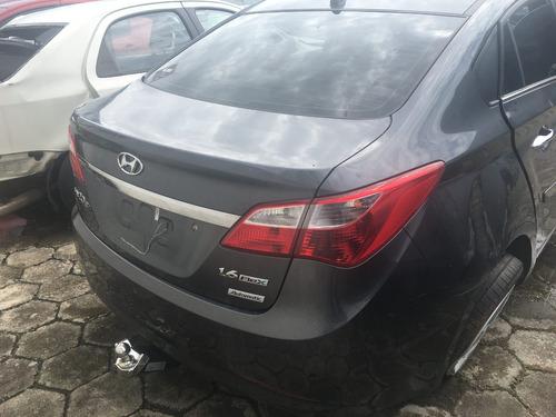 sucata hyundai hb20s 2015 flex automático retirada de peças