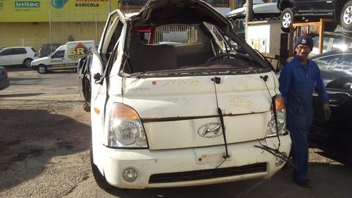 sucata hyundai hr 2.5 tci motor cambio suspensão peças