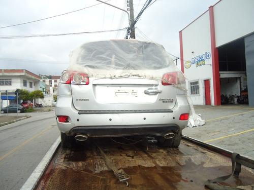 sucata hyundai santafe 2.7 mpfi v6 2009 pecas motor lataria