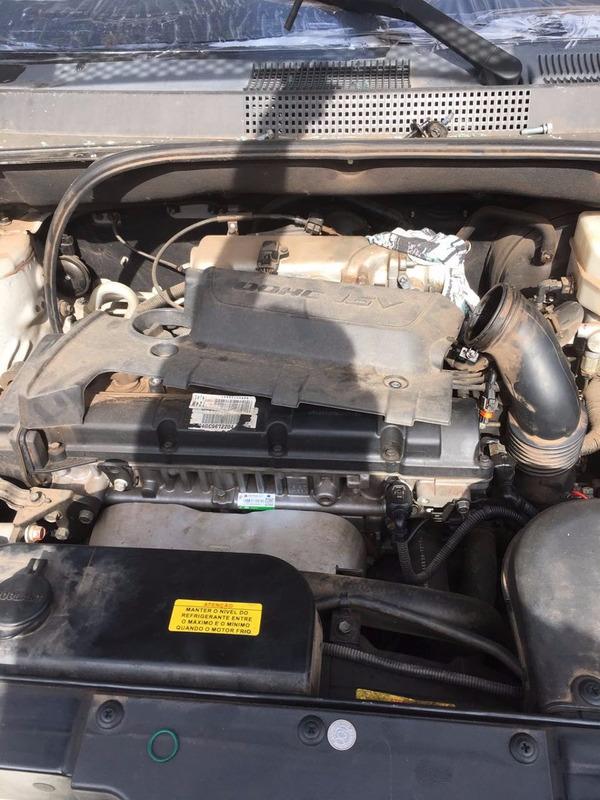 sucata hyundai tucson 2009/2010 motor cambio portas