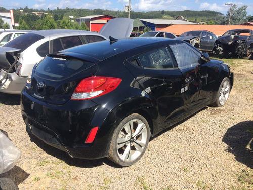 sucata hyundai veloster 2013 1.6 gasolina automatico rspeças
