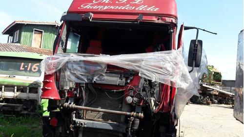 sucata iveco stralis 420 hd 6x4 2007 (somente peças)
