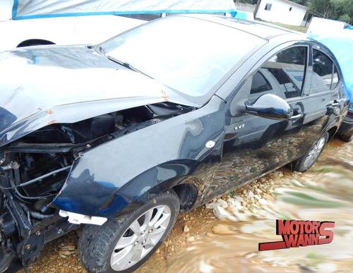 sucata jac j3 2013/2014 sedan para retirada de peças