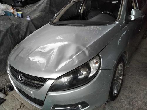 sucata jac j5 prata 2012 - 2013 - só retirada em peças