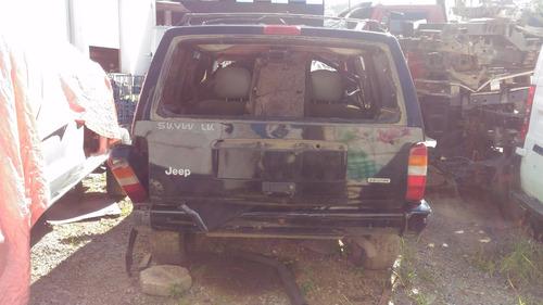sucata jeep cherokee sport 1999
