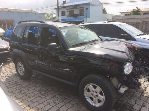 sucata jeep cherokee sport 3.7 2006 peças
