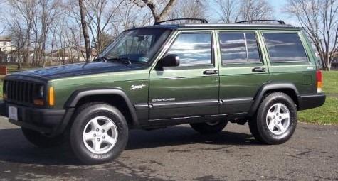 sucata jeep cherokee sport 4.0 1997 4x4 manual gasolina