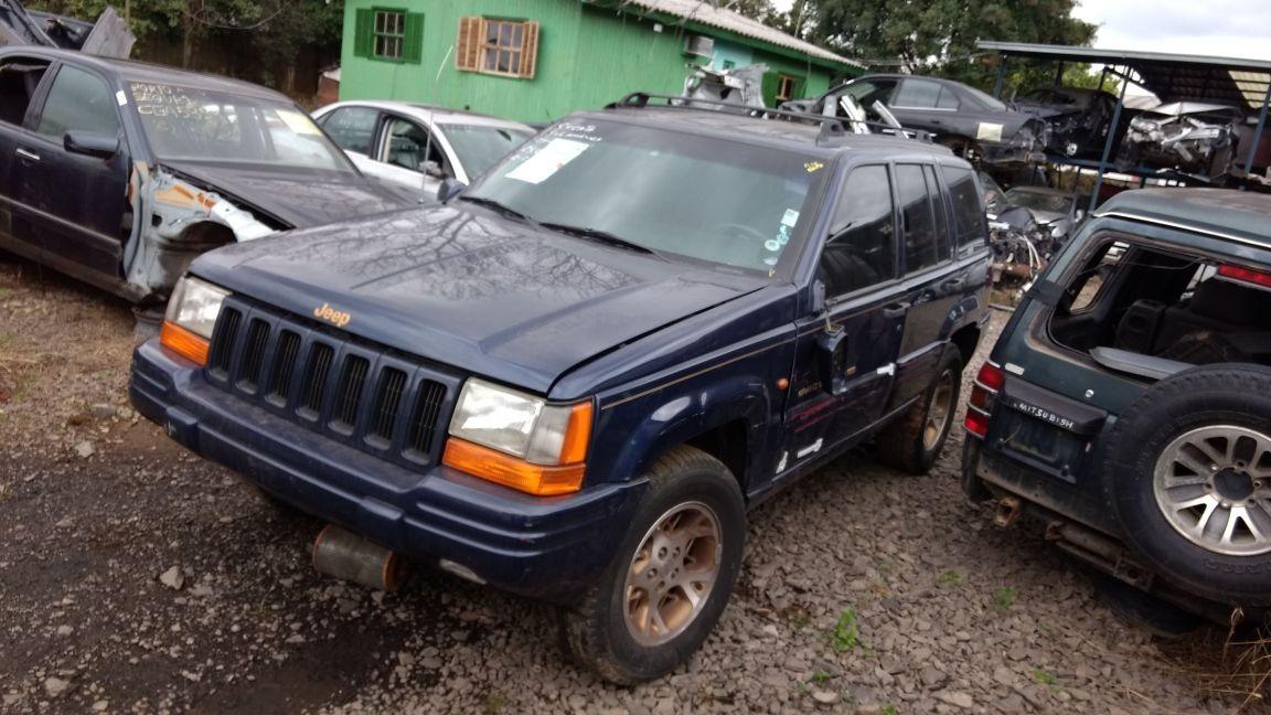 Sucata Jeep Grand Cherokee 93/97 Ltd V8 5.2 Bartolomeu Peças. Carregando  Zoom.