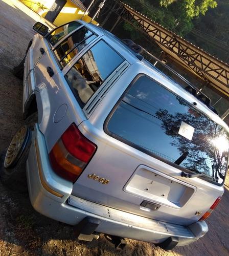 sucata jeep grand cherokee limited 1994 4x4 v8 automática
