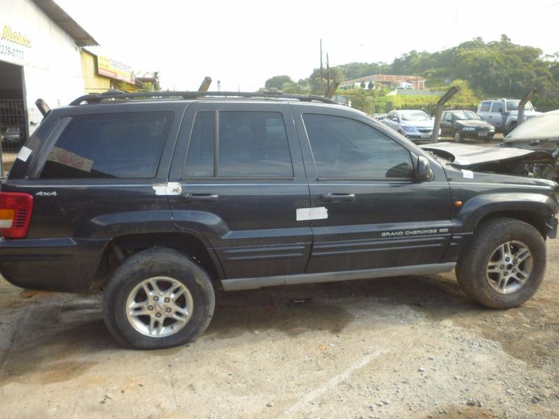 sucata jeep grand cherokee limited 4.7 v8 1999 vendo peças!