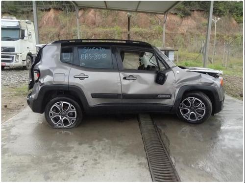 sucata jeep renegade 1.8 lngt flex aut para retirada peças