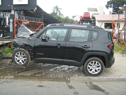 sucata jeep renegade longitude 2015 / 16 retirada de peças