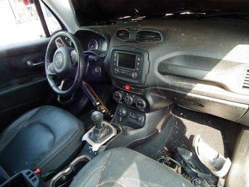 sucata jeep renegade longitude motor câmbio airbag bancos