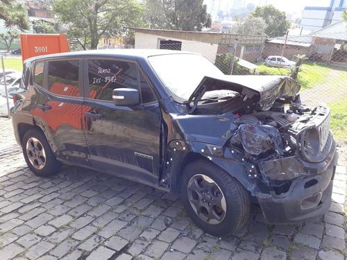 sucata jeep renegade-motor cambio porta suspenssão abs