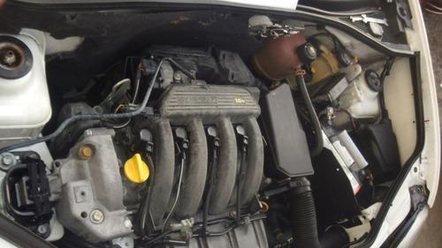 sucata kangoo 1.6 16v 2005 peças motor cambio lataria