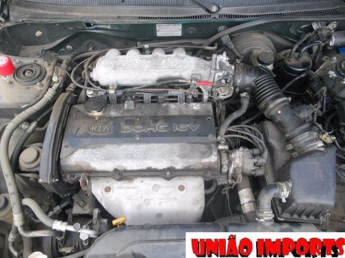sucata kia clarus 2.0 gasolina 1995 retirada de peças