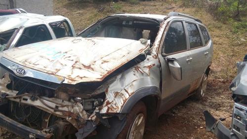 sucata kia mohave 2011 4x4 diesel 3.0 para retirada de peças