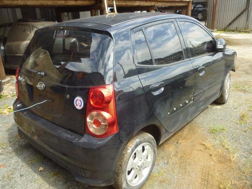 sucata kia picanto ex3 1.0 12v automático 2011 vendo peças !