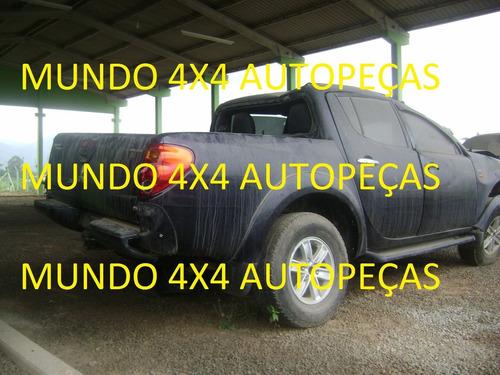 sucata l200 triton 3.2 d 2010 aut com motor e cambio e peças