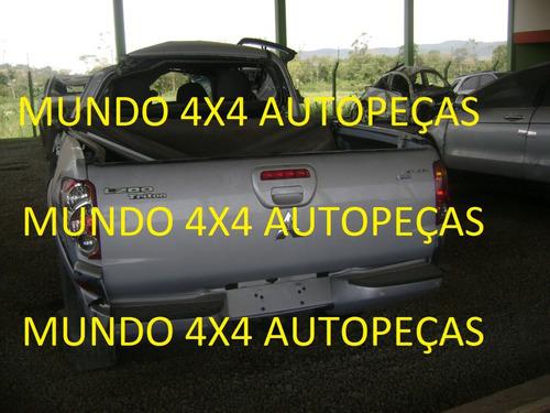 sucata l200 triton 3.2 d aut 2012 com motor e cambio e peças