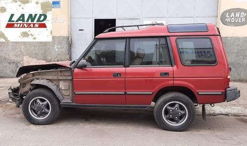 sucata land rover discovery 1 diesel 2.5 - retirada de peças