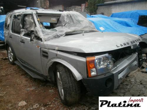 sucata land rover discovery 3 2008  para retirada de peças