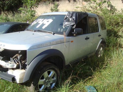 sucata land rover discovery 3 e 4 - motor caixa lataria
