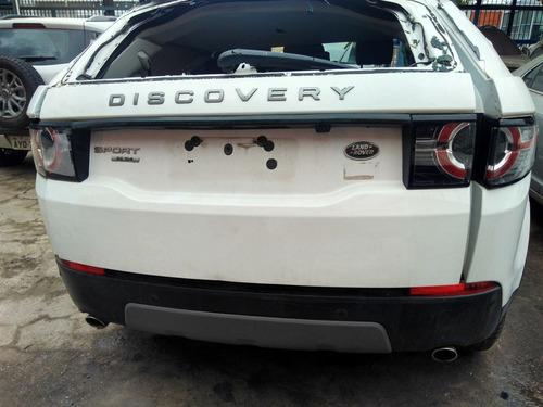 sucata land rover discovery sport 2.0 venda de peças