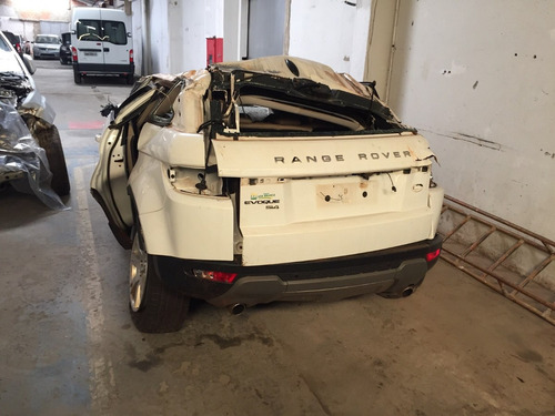 sucata land rover evoque 2011 retirada de peças