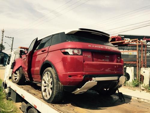 sucata land rover evoque 2013 para retirada de peças
