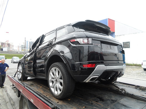 sucata land rover range evoque peças motor cambio rodas teto