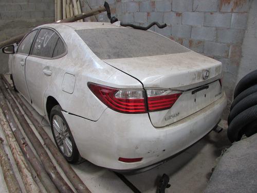 sucata lexus 2012 es350 somente peças