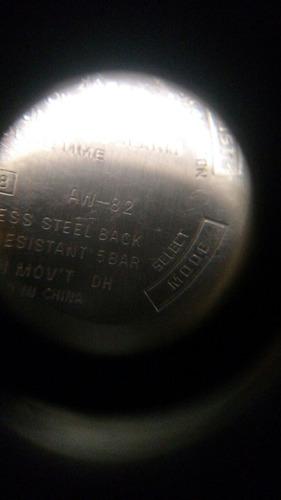 sucata maquina relogio casio analogico/digital aw-82