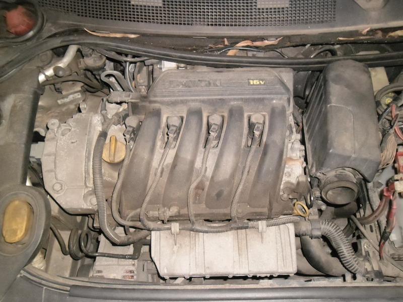 sucata megane 2009 1.6 16v flex pra tirar peças motor cambio