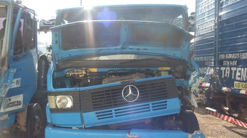 sucata mercedes 710 2001 peças motor cambio diferencial roda