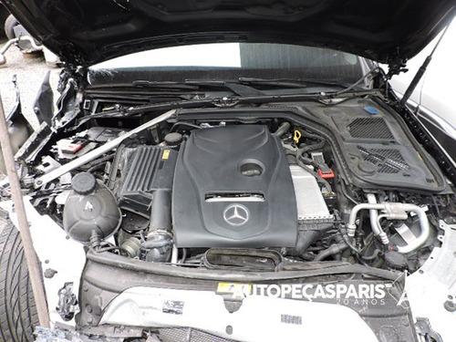 sucata mercedes-benz c200 2.0 turbo w205 2015 peças c200