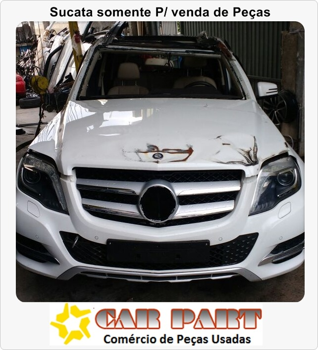 Sucata Mercedes Benz Glk 220 Cdi 2.1 4x4 Diesel 2014