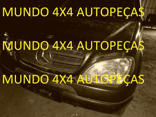 sucata mercedes benz ml320 v6 3.2 com motor e cambio peças