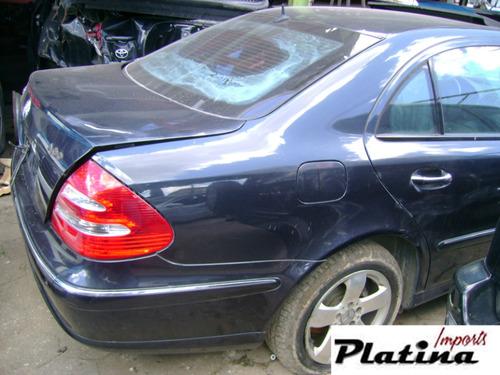 sucata mercedes e320 2003  para retirada de peças