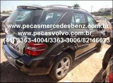 sucata mercedes ml320 ml350 cdi diesel / turbo / peças/motor
