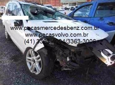 sucata mercedes ml350 nova cdi diesel / turbo / peças/motor