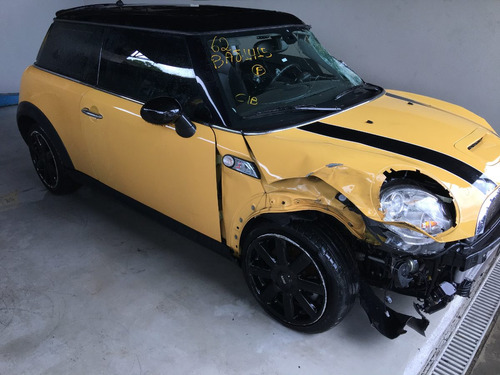 sucata mini cooper s 1.6 turbo 2010